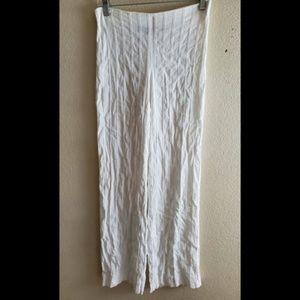 Emporio Armani White Dress Slacks Pants